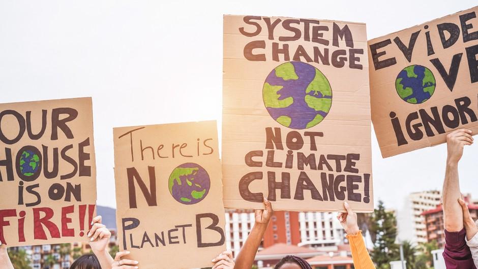 Ulice po vsem svetu bodo ponovno zavzeli mladi podnebni aktivisti, ob 11.30 tudi v Ljubljani (foto: Shutterstock)