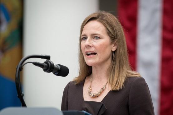 Donald Trump je imenoval Amy Coney Barrett na položaj vrhovne sodnice