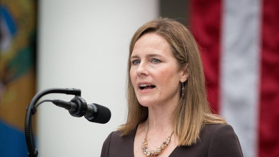 Donald Trump je imenoval Amy Coney Barrett na položaj vrhovne sodnice (foto: profimedia)