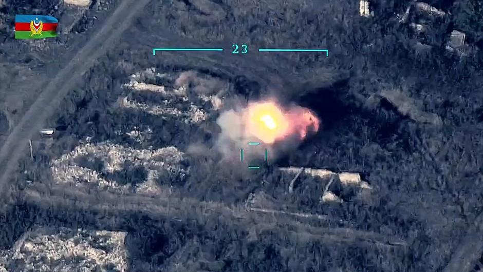 Novo vojno žarišče - spopadla sta se Armenija in Azerbajdžan (foto: profimedia)
