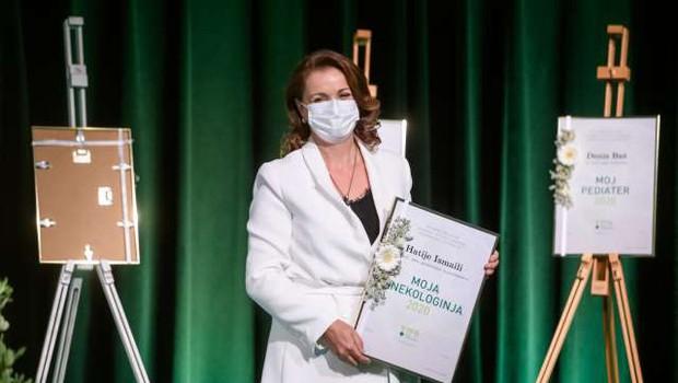 Moja zdravnica 2020 je ginekologinja Hatije Ismaili (foto: Nebojša Tejić/STA)