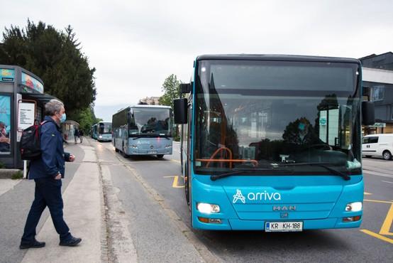 V pripravi protikoronski ukrepi za starejše v javnem prevozu