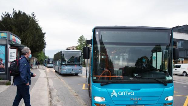 V pripravi protikoronski ukrepi za starejše v javnem prevozu (foto: Profimedia)