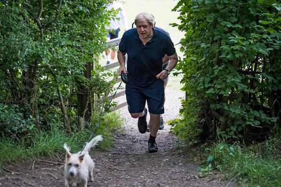 Kako je shujšal Boris Johnson (in v kaj vse bo zdaj silil sodržavljane)