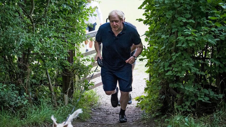 Kako je shujšal Boris Johnson (in v kaj vse bo zdaj silil sodržavljane) (foto: profimedia)