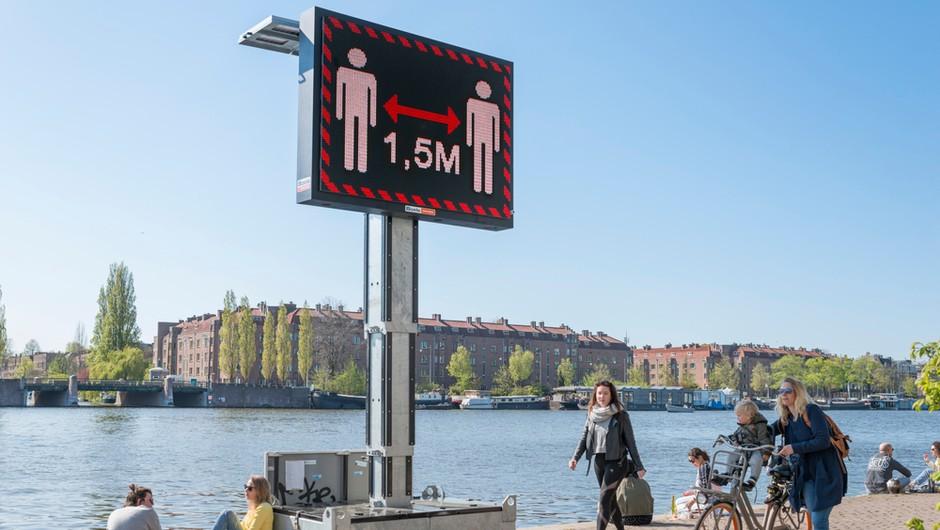 Na Nizozemskem rekordne okužbe, uvajajo najbolj stroge ukrepe do zdaj (foto: Shutterstock)