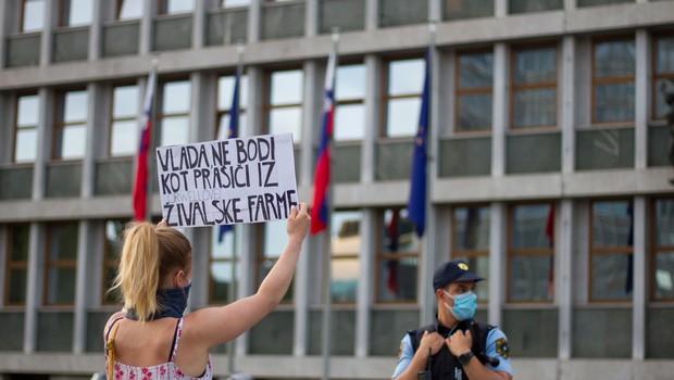 Protest na protest; 20 njih, haska pa od nikoder. Zakaj? (foto: Shutterstock)