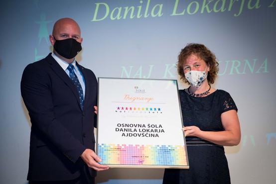 Naj kulturna šola 2020 je OŠ Danila Lokarja Ajdovščina