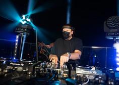 DJ Umek nad Ljubljano pospremil prvi pojav Aurore (video)