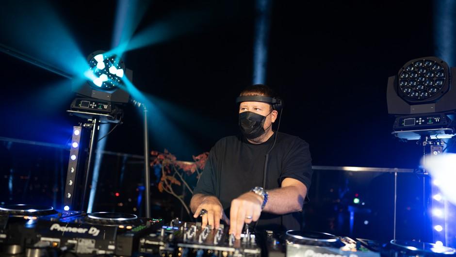 DJ Umek nad Ljubljano pospremil prvi pojav Aurore (video) (foto: Promocijsko gradivo)