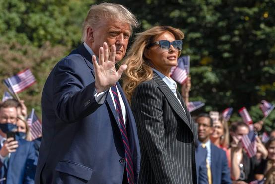 Ameriški predsednik in prva dama okužena s koronavirusom