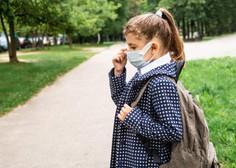 Otrokom v vrtcih in šolah po novem ne bo treba nositi mask