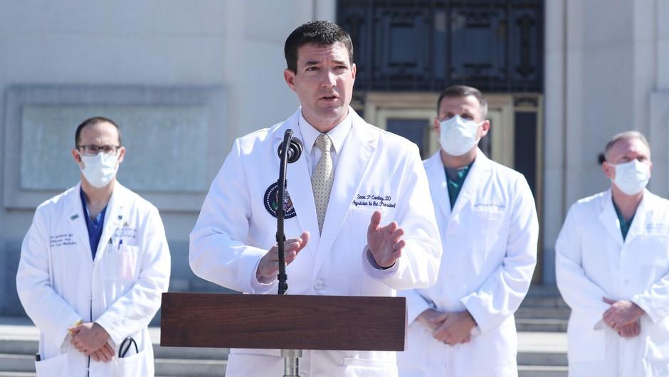Zdravniki napovedali, da bi se Trump v ponedeljek lahko vrnil v Belo hišo (foto: profimedia)