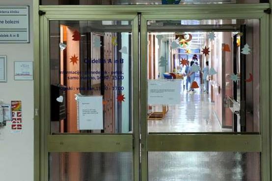 Zaradi več okužb na oddelku za žilne bolezni UKC Ljubljana ne bodo sprejemali novih bolnikov