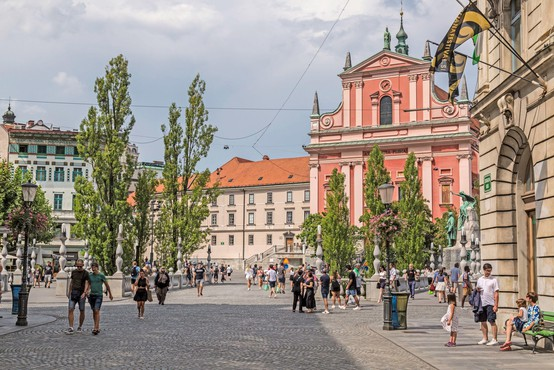 V Ljubljani poleti 75 odstotkov manj turističnih prenočitev
