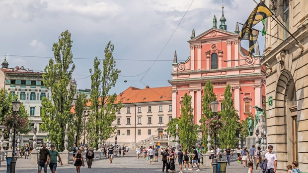 V Ljubljani poleti 75 odstotkov manj turističnih prenočitev (foto: Profimedia)