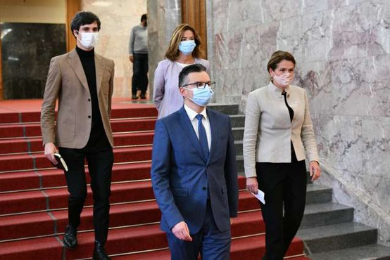 Opozicija se povezuje z Damijanom za alternativno vlado; Janša: Gre za norčevanje iz ustavne ureditve