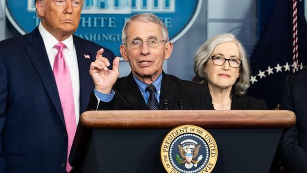 """Anthony Fauci: """"To, kar se dogaja v Beli hiši, bi bilo mogoče preprečiti!"""" (foto: profimedia)"""