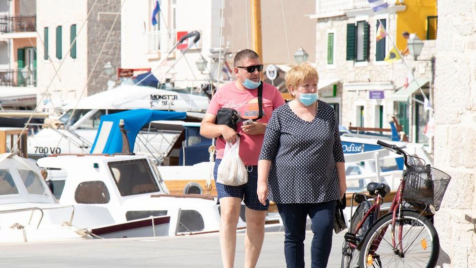 Na Hrvaškem drugo največje dnevno število okuženih v državi (foto: Profimedia)