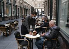 Tudi v Belgiji, Berlinu in Frankfurtu zaostrujejo ukrepe, gostilne in lokali zaprti ob 23. uri