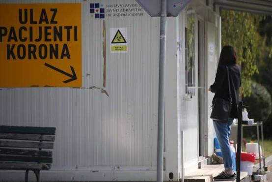 Na Hrvaškem ob 5939 testih potrdili 542 okužb
