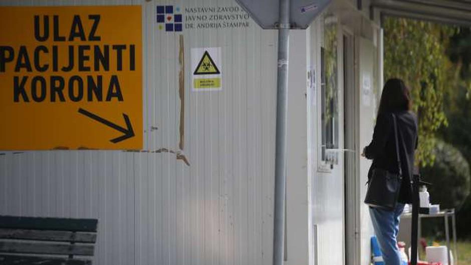 Na Hrvaškem ob 5939 testih potrdili 542 okužb (foto: Hina/STA)