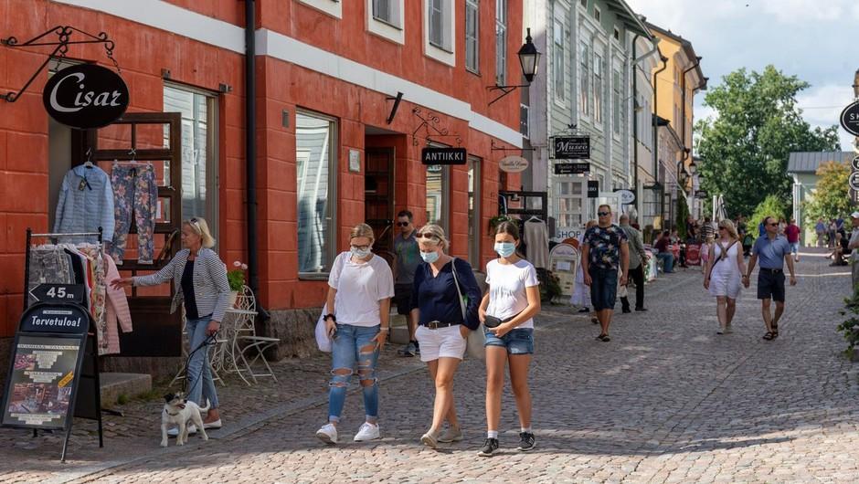 Na Finskem je bilo v prvem valu 5-krat več okuženih, kot so kazale uradne številke (foto: profimedia)