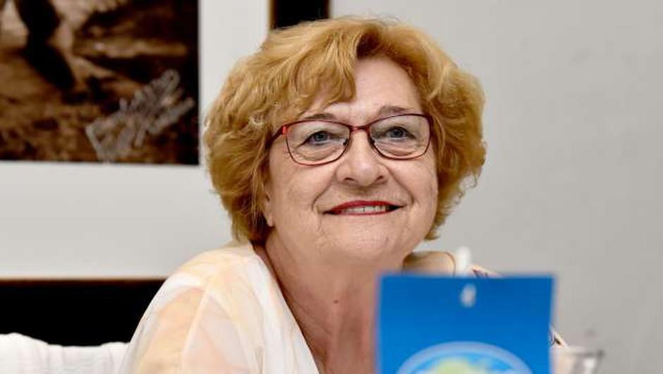 Iz DeSUS izstopila podpredsednica Jelka Kolmanič (foto: Tamino Petelinšek/STA)