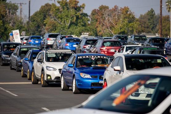 [V DELU] Parada avtomobilov Subaru, ki je podrla svetovni rekord