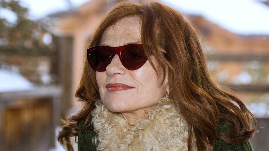 Isabelle Huppert spolna neenakost v filmski industriji ne razburja pretirano (foto: profimedia)