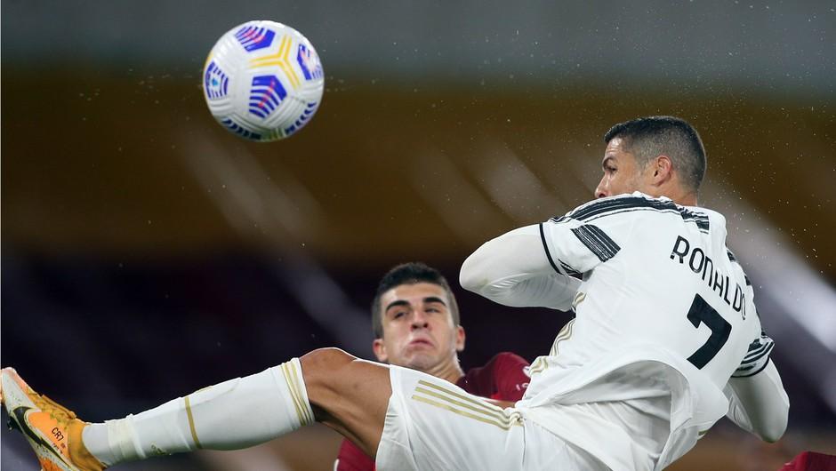 Z 31 milijoni na leto je daleč najbolje plačani nogometaš v Italiji Ronaldo (foto: profimedia)