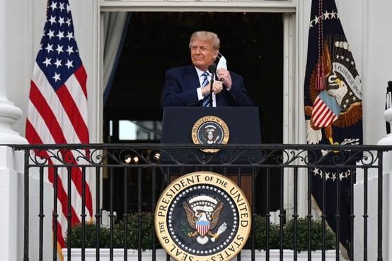 Trumpov osebni zdravnik zagotavlja, da predsednik ni več kužen