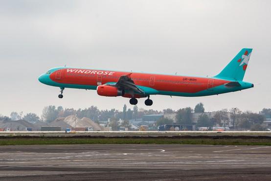 Ukrajinski letalski prevoznik Windrose bo vendarle uvedel povezavo med Kijevom in Brnikom