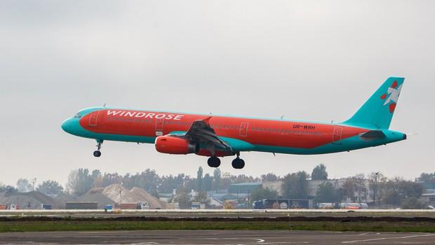 Ukrajinski letalski prevoznik Windrose bo vendarle uvedel povezavo med Kijevom in Brnikom (foto: Profimedia)