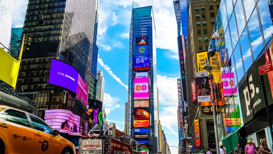 Poraba tujih turistov v ZDA letos za 75 odstotkov manjša, posledice najbolj čuti New York (foto: Shutterstock)