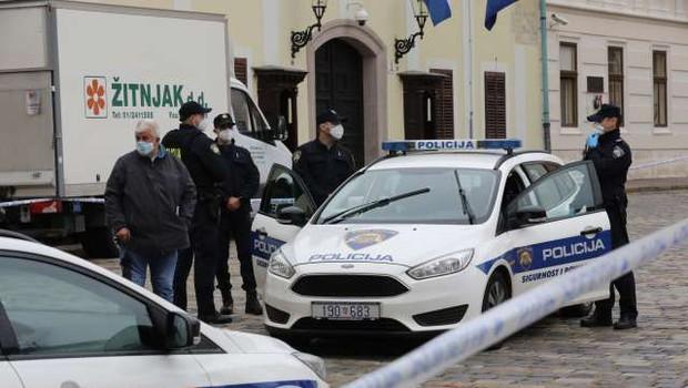 Hrvaška policija pridržala očeta strelca z Markovega trga (foto: Hina/STA)