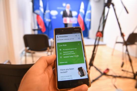 Ministrstvo začelo z objavo podatkov o številu izdanih TAN kod za aplikacijo #OstaniZdrav