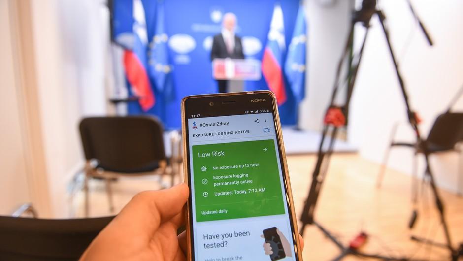 Ministrstvo začelo z objavo podatkov o številu izdanih TAN kod za aplikacijo #OstaniZdrav (foto: Nebojša Tejić/STA)