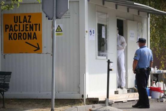 Na Hrvaškem nov rekord s 748 novimi okužbami