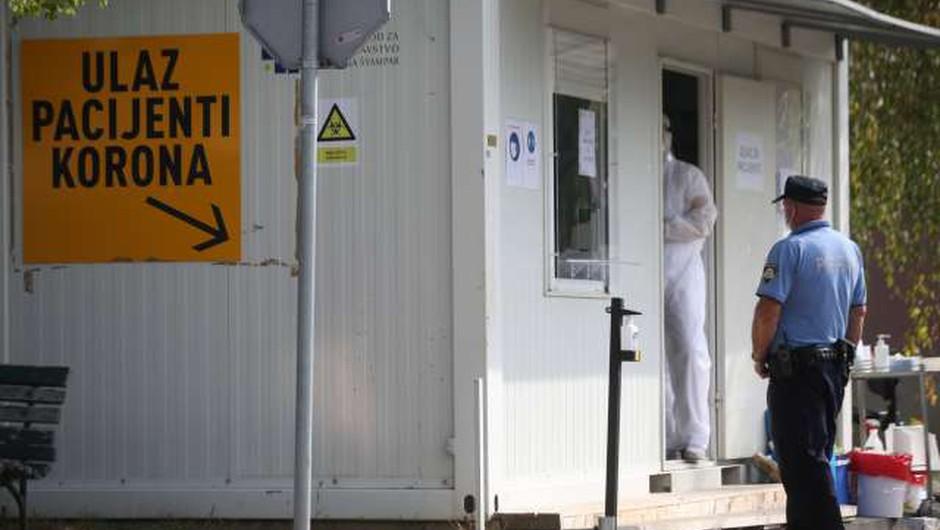 Na Hrvaškem nov rekord s 748 novimi okužbami (foto: Hina/STA)