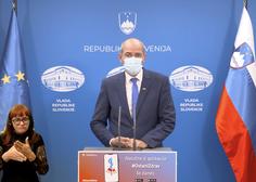 """Janša: Od petka omejitev gibanja med """"rdečimi"""" regijami, od ponedeljka pouk na daljavo"""