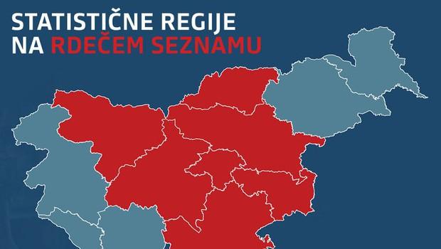 Polovica Slovenije od petka v karanteni: Objavljamo natančen pregled vseh omejitev (foto: VLADA RS)
