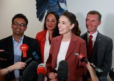 Jacinda Ardern z Laburistčno stranko do absolutne večine v parlamentu