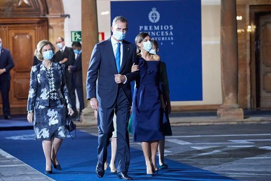 Ob strogih protikoronskih ukrepih princesa Leonora podelila nagrade princese Asturije