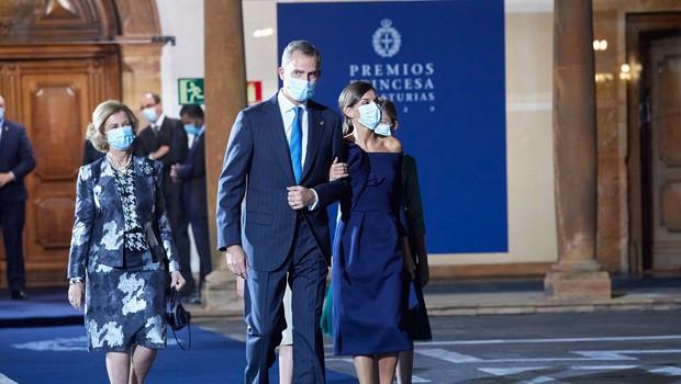 Ob strogih protikoronskih ukrepih princesa Leonora podelila nagrade princese Asturije (foto: profimedia)