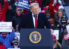 Trump na zborovanjih protikandidata Bidna označil za kriminalca
