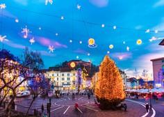 V Ljubljani začeli z okrasitvijo ulic, praznične lučke bodo prižgali 27. novembra