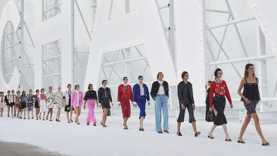 Defile modne revije Chanel (foto: Chanel press)