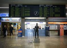 Na ljubljanskem letališču letos 80-odstoten upad števila potnikov