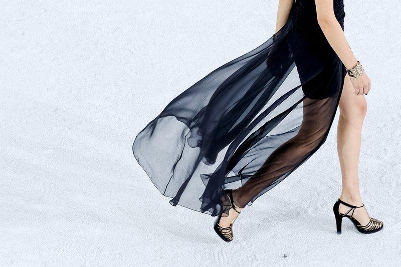 Modna revija Chanel za pomlad in poletje 2021